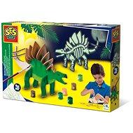 SES Világító dinoszaurusz készítése - Csináld magad készlet gyerekeknek