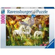 Ravensburger 159925 Unikornisok az erdőben 1000 db - Puzzle