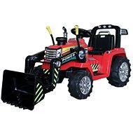 MASTER kanalas traktor, piros, hátsókerék-meghajtású - Elektromos autó gyerekeknek
