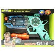 Elemes pisztoly - hang - fény - Játékfegyver