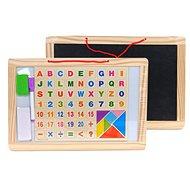 Mágneses tábla betűkkel és számokkal - Mágneses tábla