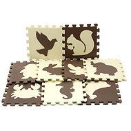 Habszivacs padló puzzle - állatok - Habszivacs puzzle