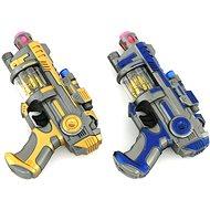 Elemes pisztoly fénnyel és hanggal - Játékfegyver