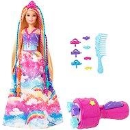 Barbie hercegnő színes hajjal játékszett - Játékbaba