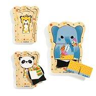 Puzzle Lucky, az elefánt és barátai - Puzzle