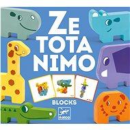 Puzzle kockák Állatkerti állatkák - Puzzle