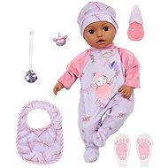 Baba Annabell Leah, feketebőrű, 43 cm - Játékbaba