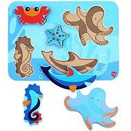 Lucy & Leo 227 Tengeri állatok - fa kirakós játék 6 darab - Kirakós játék