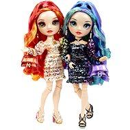 Rainbow High Fashion ikrek - Laurel & Holly De'Vious - Játékbaba