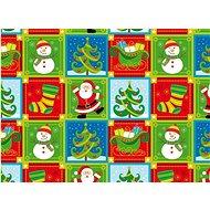Karácsonyi csomagolópapír 2 m/70 cm, Domino - Csomagolópapír
