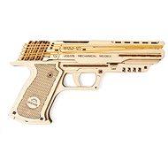 Ugears Wolf-01 pisztoly modell - Fa építőkészlet
