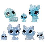 Littlest Pet Shop Állatok a Jég Királyságból 7db - kék - Játékszett