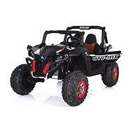 Új RSX - fekete - Elektromos autó gyerekeknek