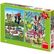 A Kisvakond örül - Puzzle