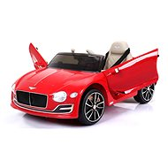 Bentley EXP 12 Prototípus lakkozott, piros színű - Elektromos autó gyerekeknek