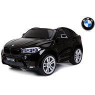 BMW X6 M fekete lakkozott - Elektromos autó gyerekeknek