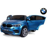 BMW X6 M kék lakkozott - Elektromos autó gyerekeknek