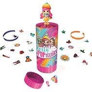 Party Pop Teenies Tuba - konfetti és baba - Játékszett
