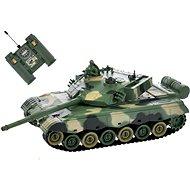 RC tank zöld-barna - Távvezérelhető tank