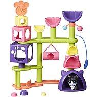 Littlest Pet Shop makcsaház macskával játékszett - Játékszett