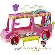 Littlest Pet Shop Cukrász autó 3 állattal - Játékszett