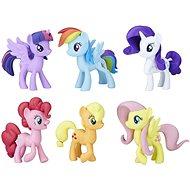 My Little Pony 6 darabos póni kollekció - Figura szett