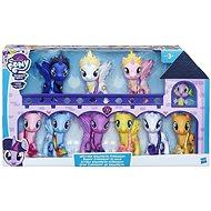 My Little Pony prémium kollekció 9 póni és sárkány - Figura szett