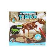 Vésés Dino világító T-Rex - Kreatív szett