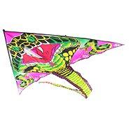 Sárkány repülő kobra fekete nylon - Sárkány