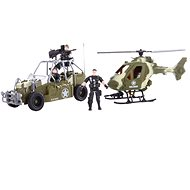 Helikopter és quad - Játék szett