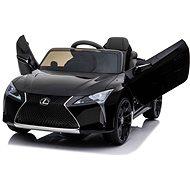 Lexus LC500, fekete - Elektromos autó gyerekeknek