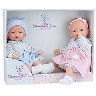 Marina & Pau 573-K iker babák - babák hangokkal és puha kendővel - Baba