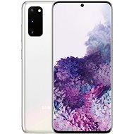 Samsung Galaxy S20 + fehér - Mobiltelefon