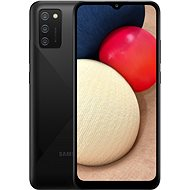 Samsung Galaxy A02s fekete - Mobiltelefon