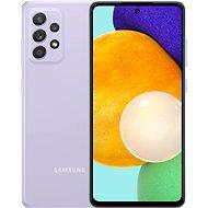 Samsung Galaxy A52 lila - Mobiltelefon