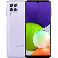 Samsung Galaxy A22 128GB lila - Mobiltelefon