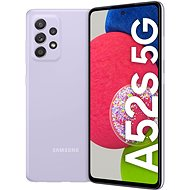 Samsung Galaxy A52s 5G lila - Mobiltelefon