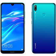 HUAWEI Y7 (2019) kék - Mobiltelefon