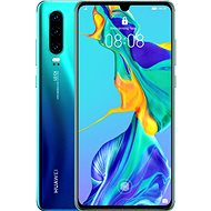 HUAWEI P30 Auróra kék - Mobiltelefon