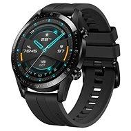 Huawei Watch GT 2 46 mm-es fekete fluorelasztomer heveder - Okosóra