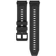 Huawei Original Black szilikonszíj Watch GT 2e okosórához - Szíj