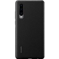 Huawei Original PU tok P30 készülékhez, fekete - Mobiltelefon hátlap