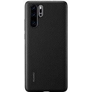 Huawei Original PU tok P30 Pro készülékhez, fekete - Mobiltelefon hátlap