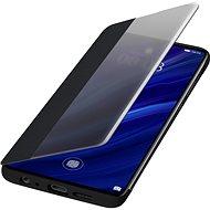 Huawei Original S-View tok P30 készülékhez, fekete - Mobiltelefon tok