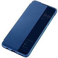Huawei Original S-View tok P30 Lite készülékhez, kék - Mobiltelefon tok