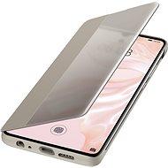 Huawei Original S-View tok P30 készülékhez, khakiszínű - Mobiltelefon tok