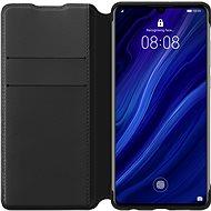Huawei Original Wallet tok P30 Lite készülékhez, fekete - Mobiltelefon tok
