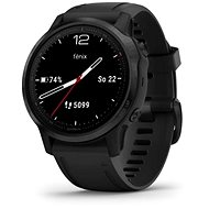 Garmin Fenix 6S Glass, Black/Black Band (MAP/Music) - Okosóra