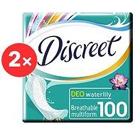 DISCREET Multiform Waterlily 2× 100 db - Egészségügyi betét