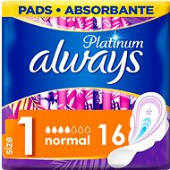 ALWAYS Platinum Ultra Normal Plus Duopack, 16 db - Tisztasági betét